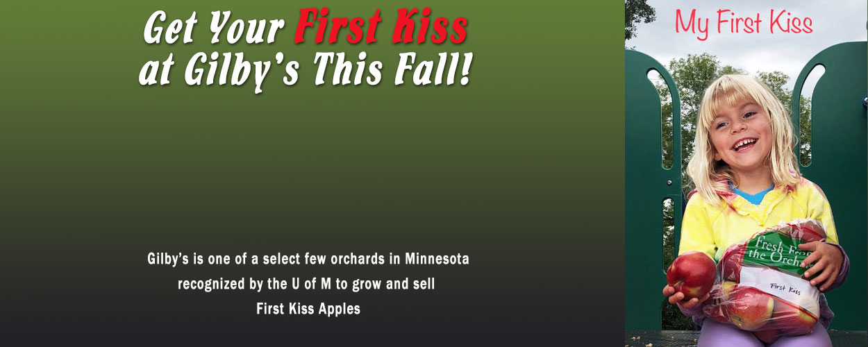 First Kiss Apples!