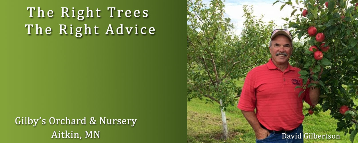 The Right Advice at Gilby's Orchard & Nursery