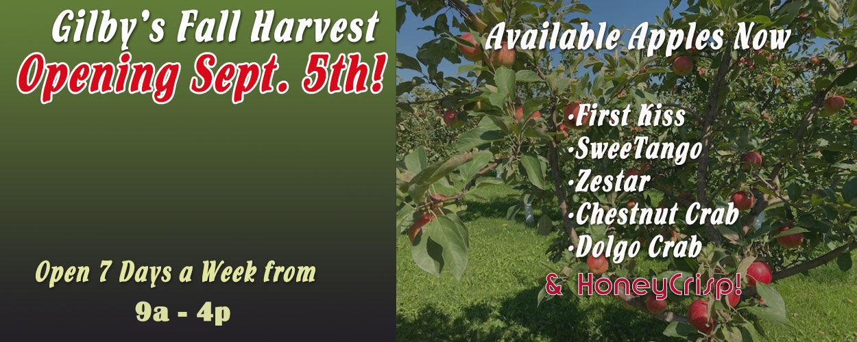Come to Gilby's Orchard